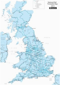 48 best railway maps of britain images in 2019 map of britain