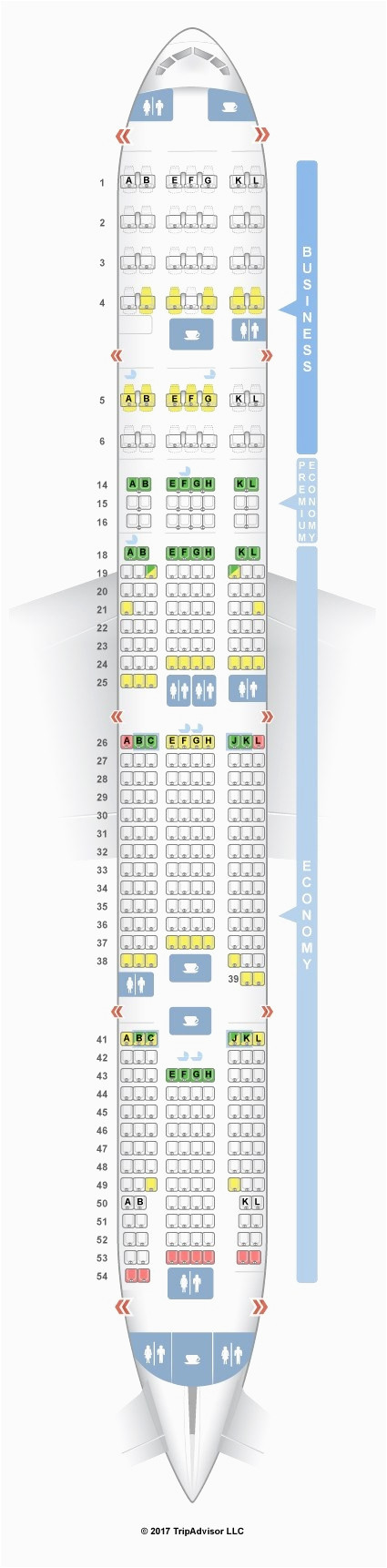 air canada aircraft 777 seating plan the best picture