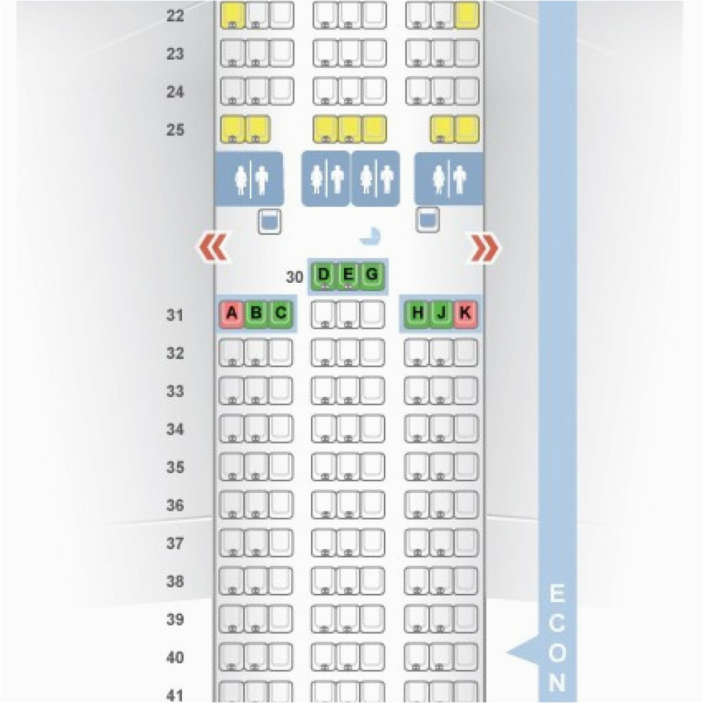 Air Canada 777 300er Seat Map 77w Seat Map Seatguru Air Canada Boeing 777 300er 77w Two Class