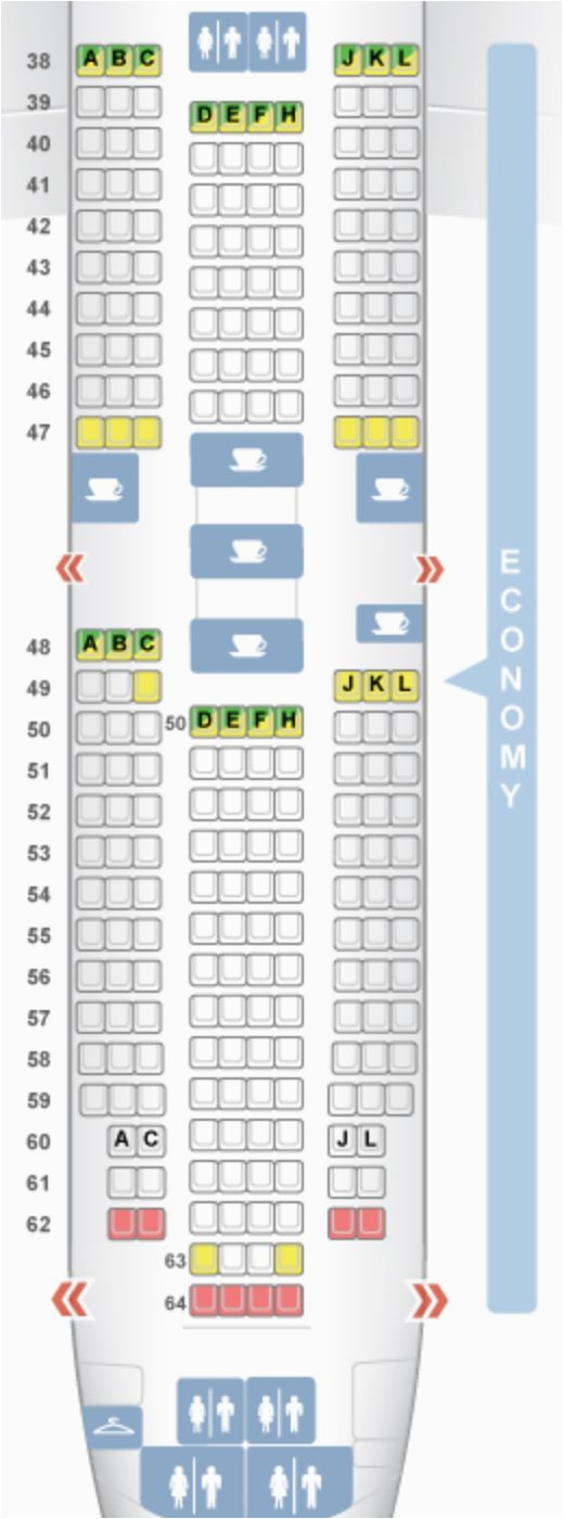 air china s direct routes from the u s plane types seat