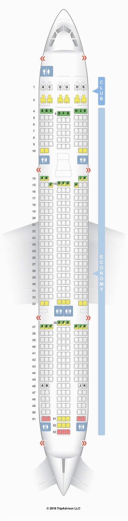 airbus a330 seat map luxury air canada plane layout boeing