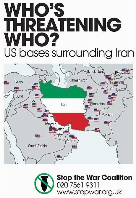 who s threatening who map of us military bases surrounding