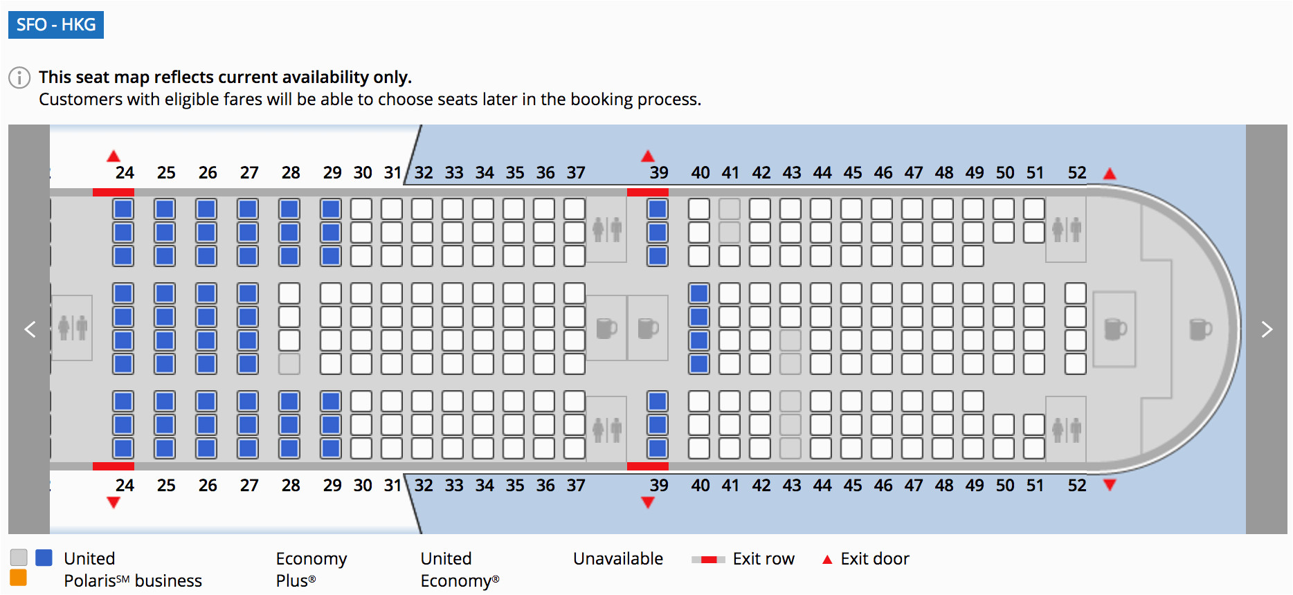 where to sit when flying united s 777 300er economy