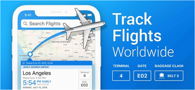 the flight tracker on the app store