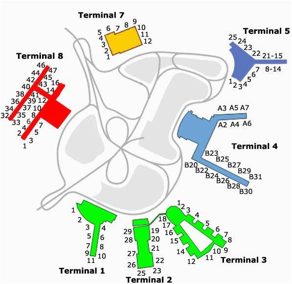 jfk airport gate map nyc jfk map new york travel
