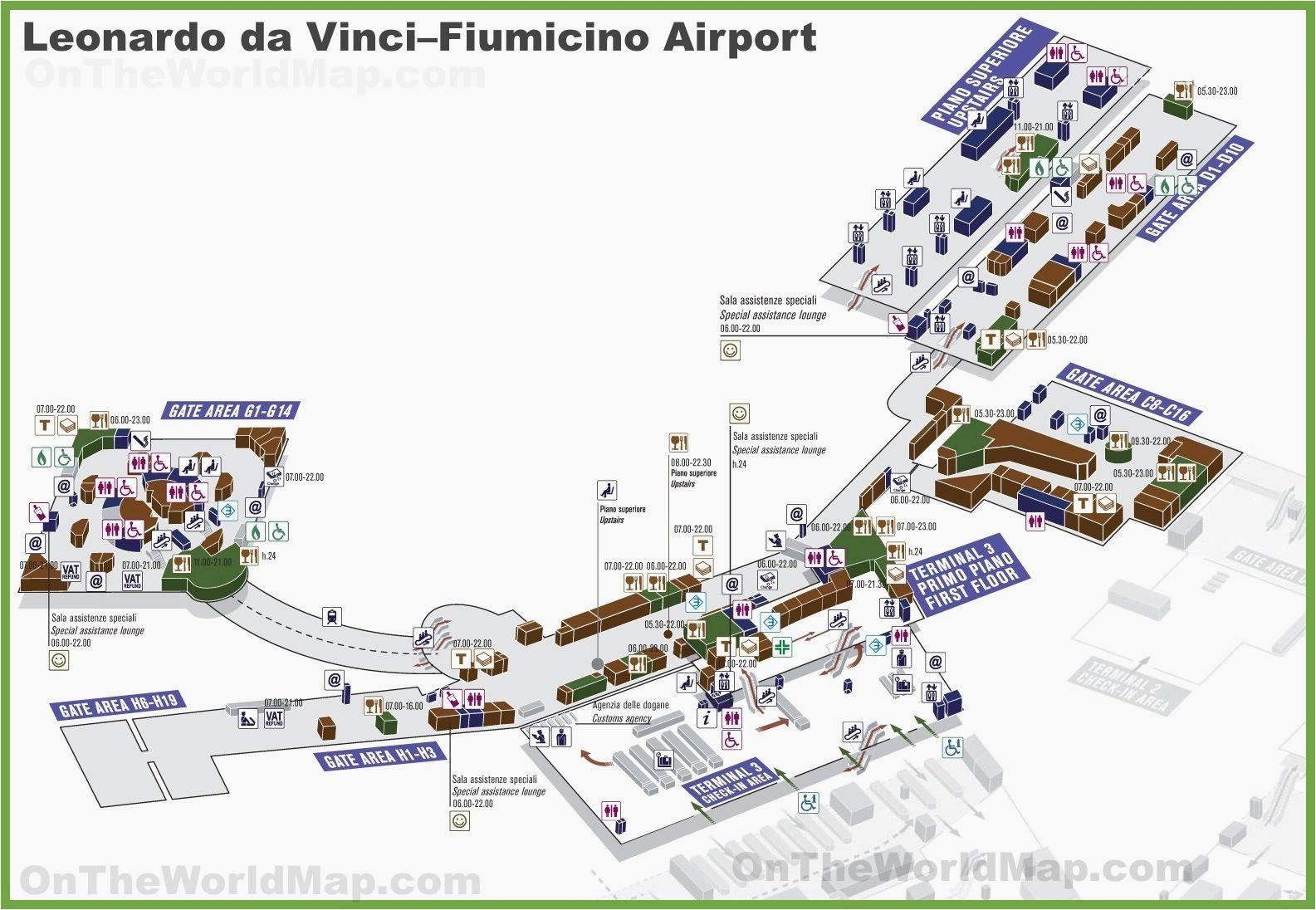airport map of italy secretmuseum