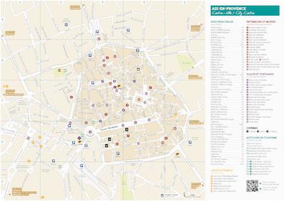 maps aix en provence a tourist office