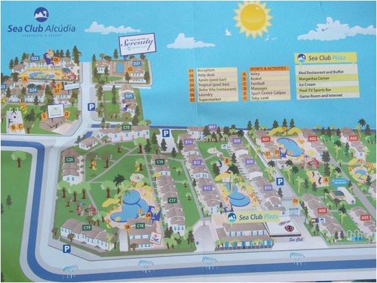 plan of sea club picture of seaclub mediterranean resort port d