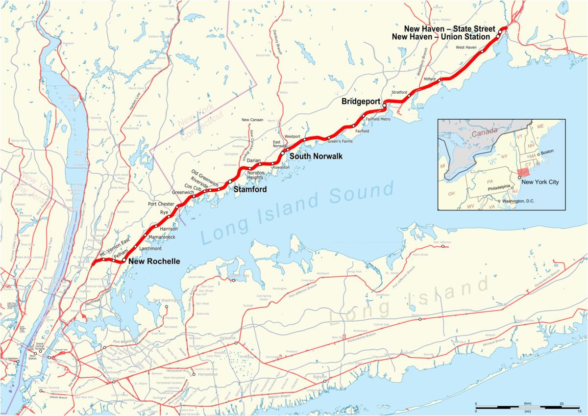 new haven line wikipedia