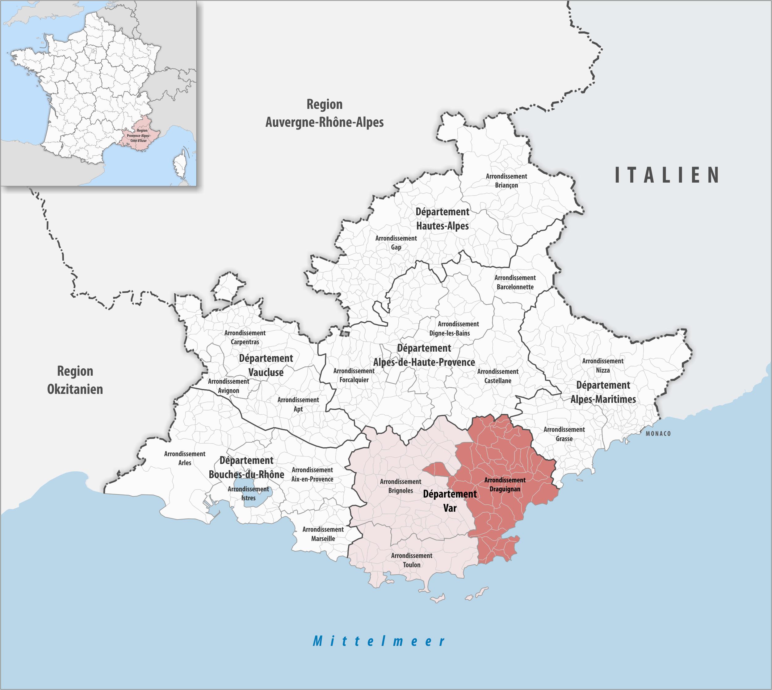 arrondissement draguignan wikipedia