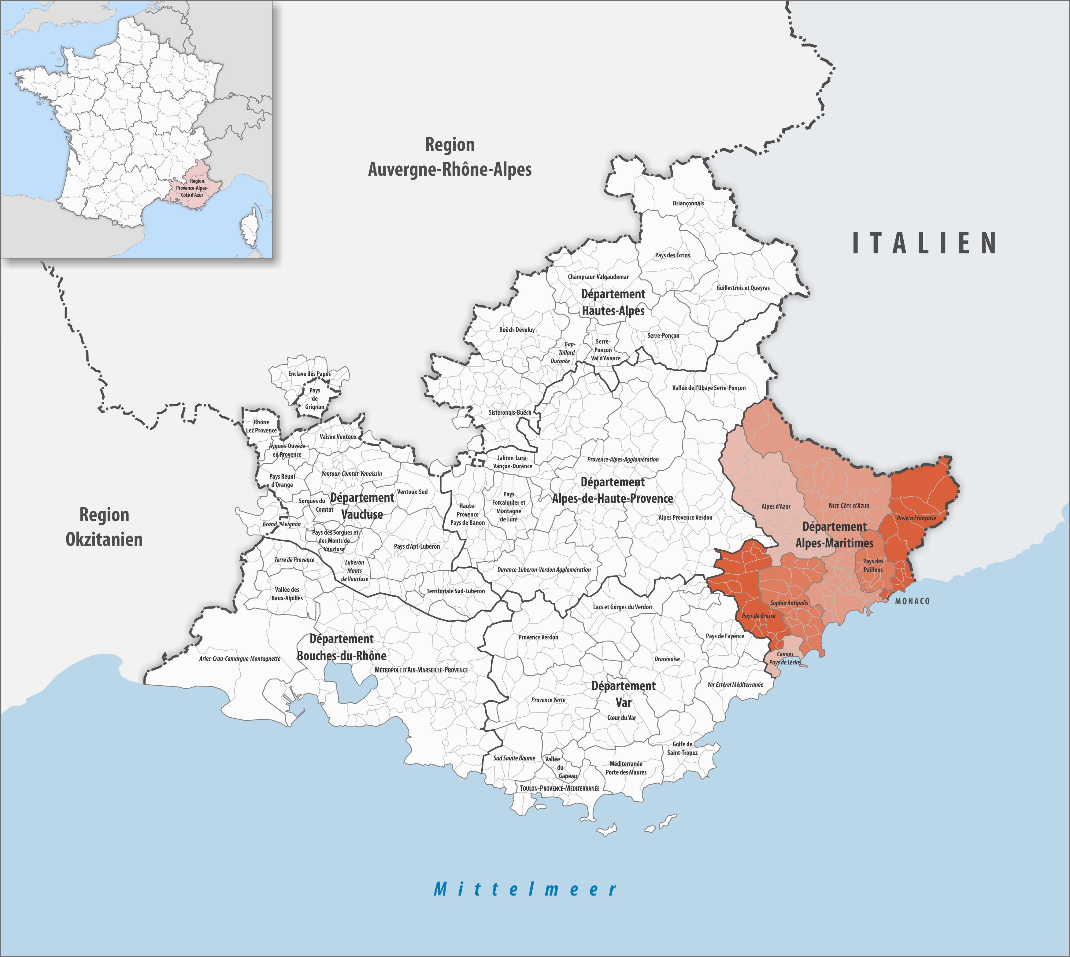 Arles France Map Datei Gemeindeverbande Im Departement Alpes Maritimes 2018
