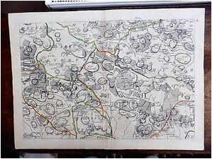 details about 1769 kent andrews dury herbert antique map original ashford tenterden benenden