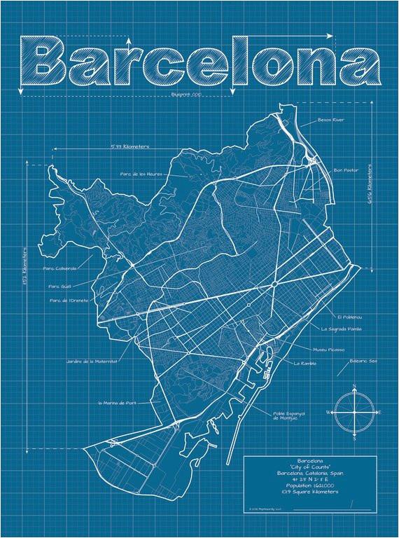 barcelona map barcelona spain map barcelona catalonia map