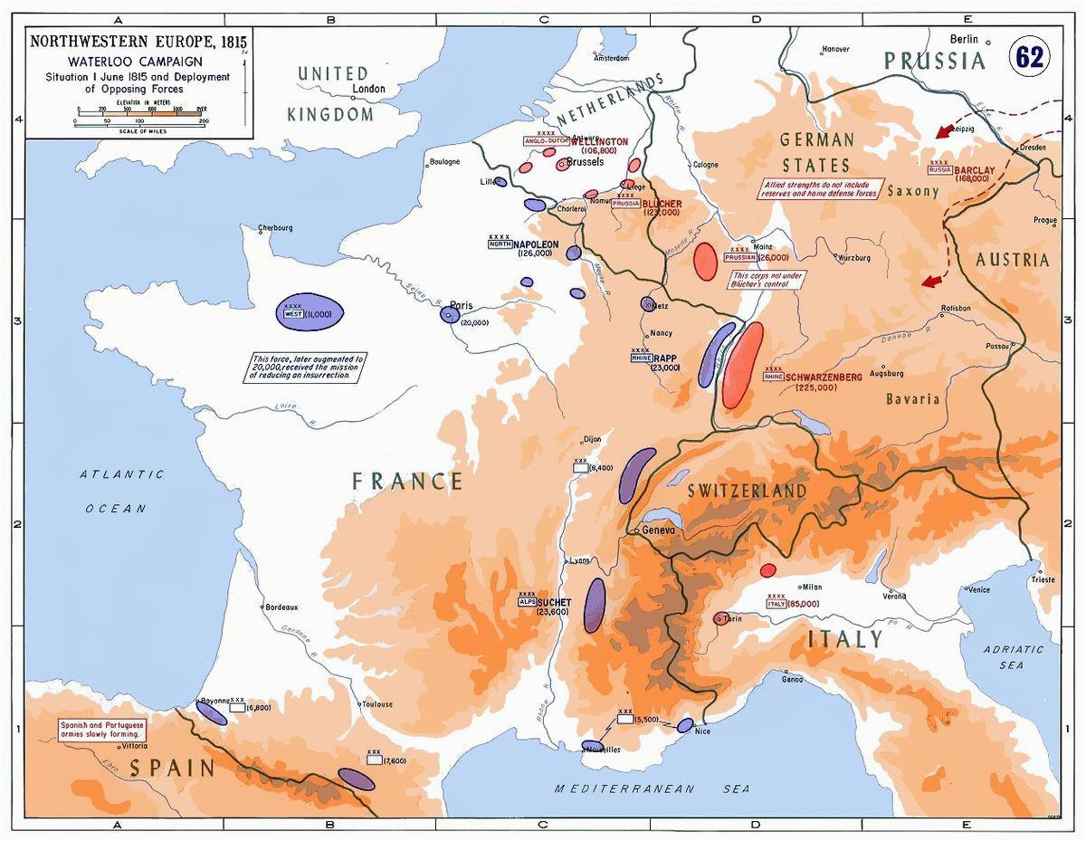 minor campaigns of 1815 wikipedia