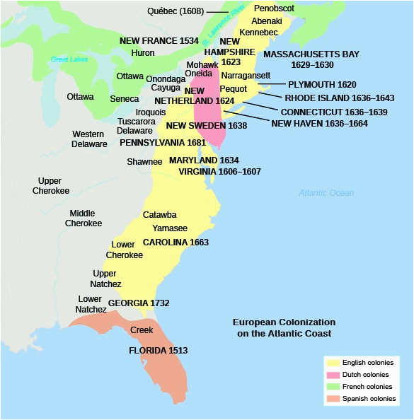 english settlements in america us history i os collection