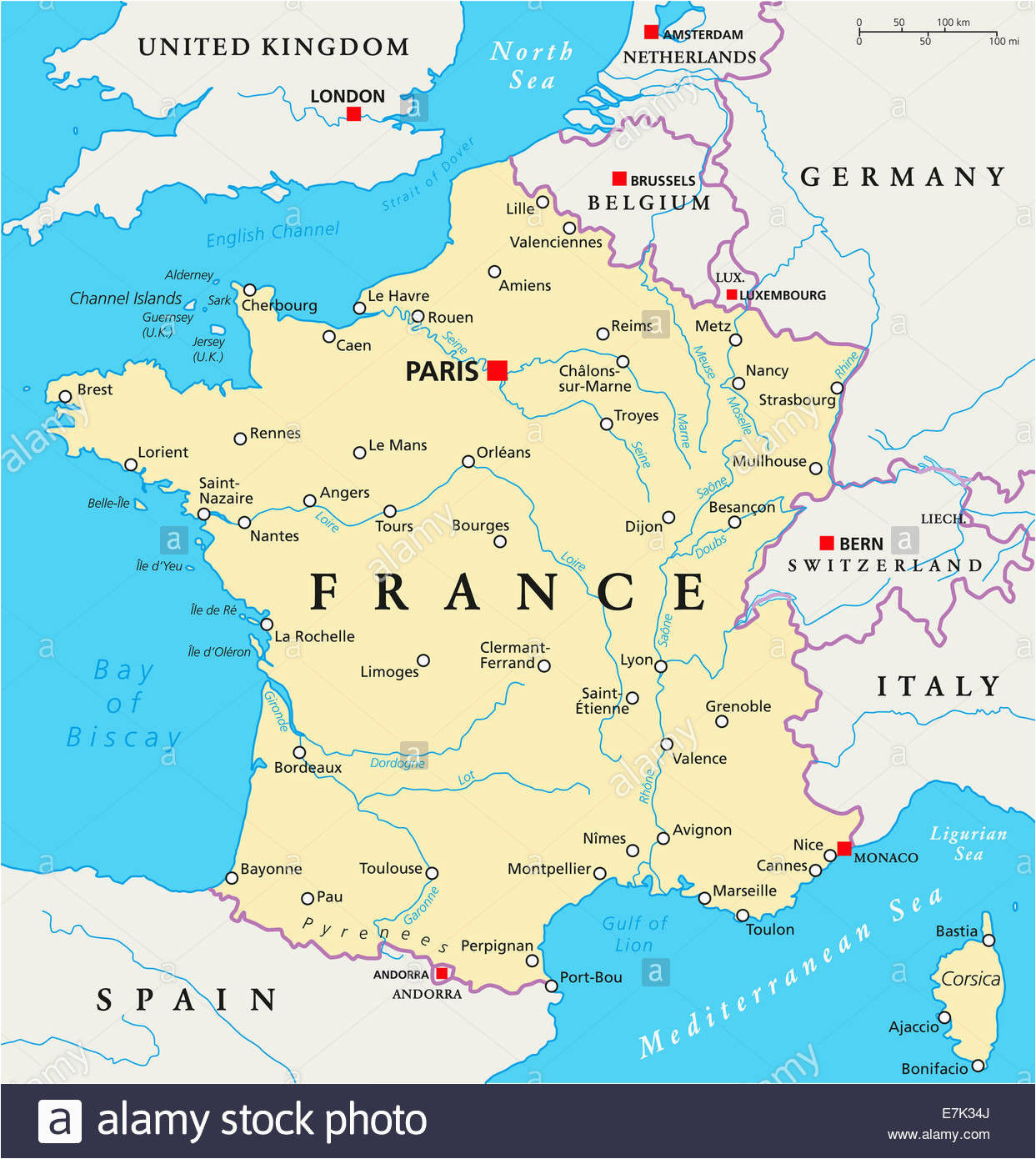 english channel map stock photos english channel map stock
