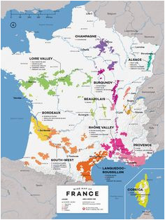 24 best france map images in 2018 wine education wine