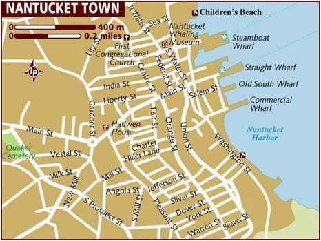 map of nantucket massachusetts new england maps nantucket