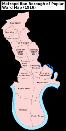 districts of the london borough of tower hamlets revolvy