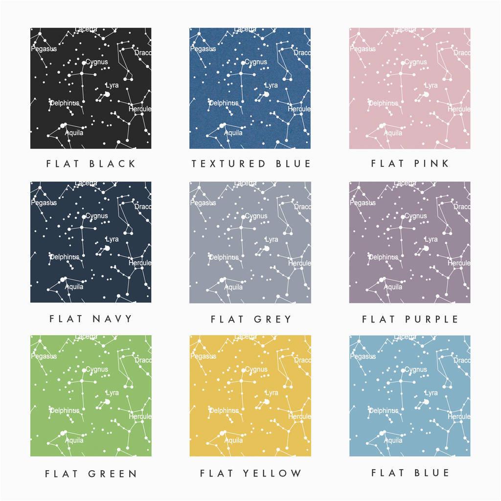 personalised star map print