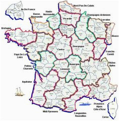 10 best maps of france images in 2017 france map map of france