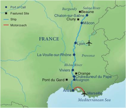 a river cruise of provence smithsonian journeys