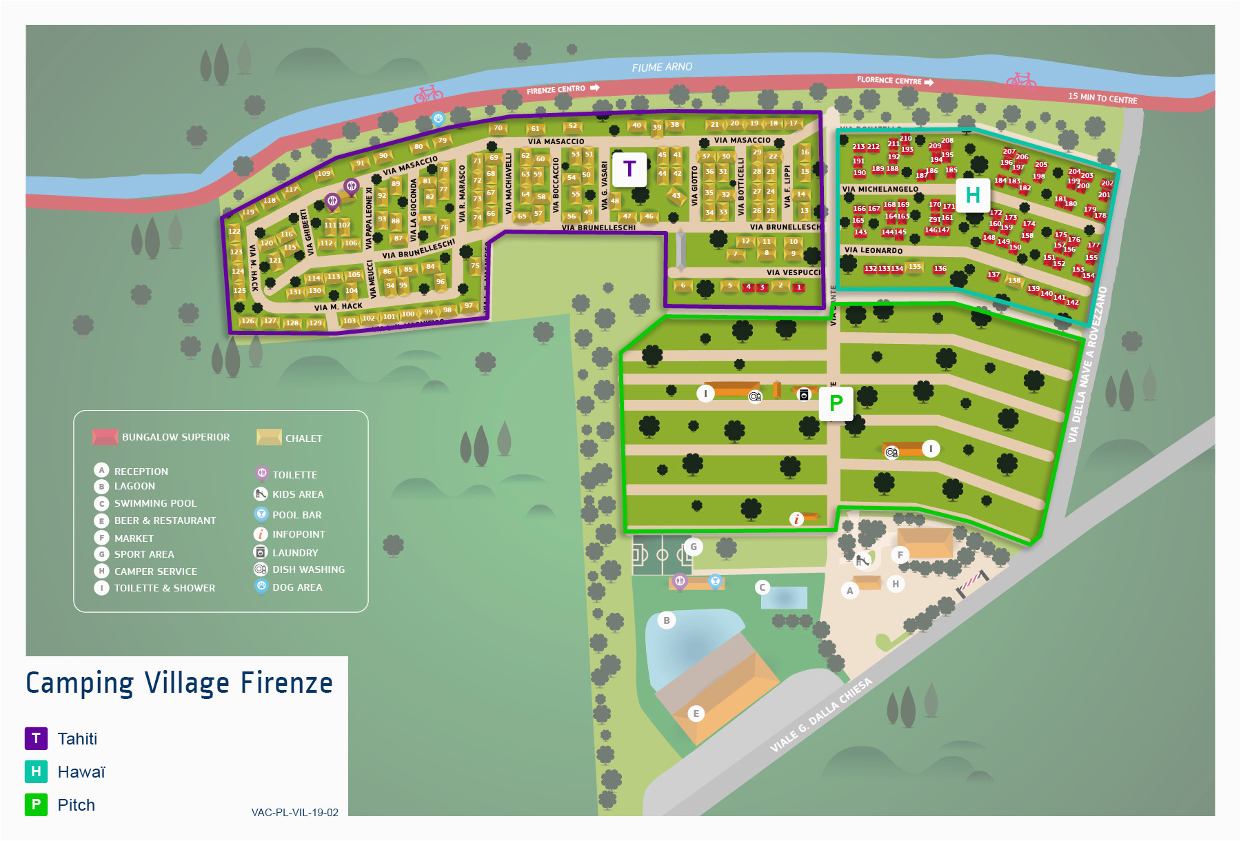 camping village firenze italy vacansoleil ie