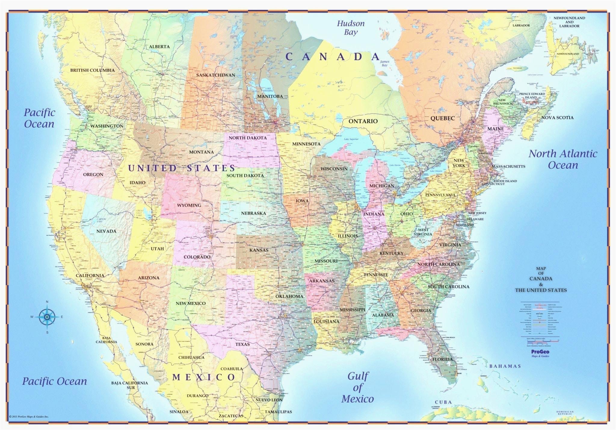 Canada and Usa Border Map | secretmuseum