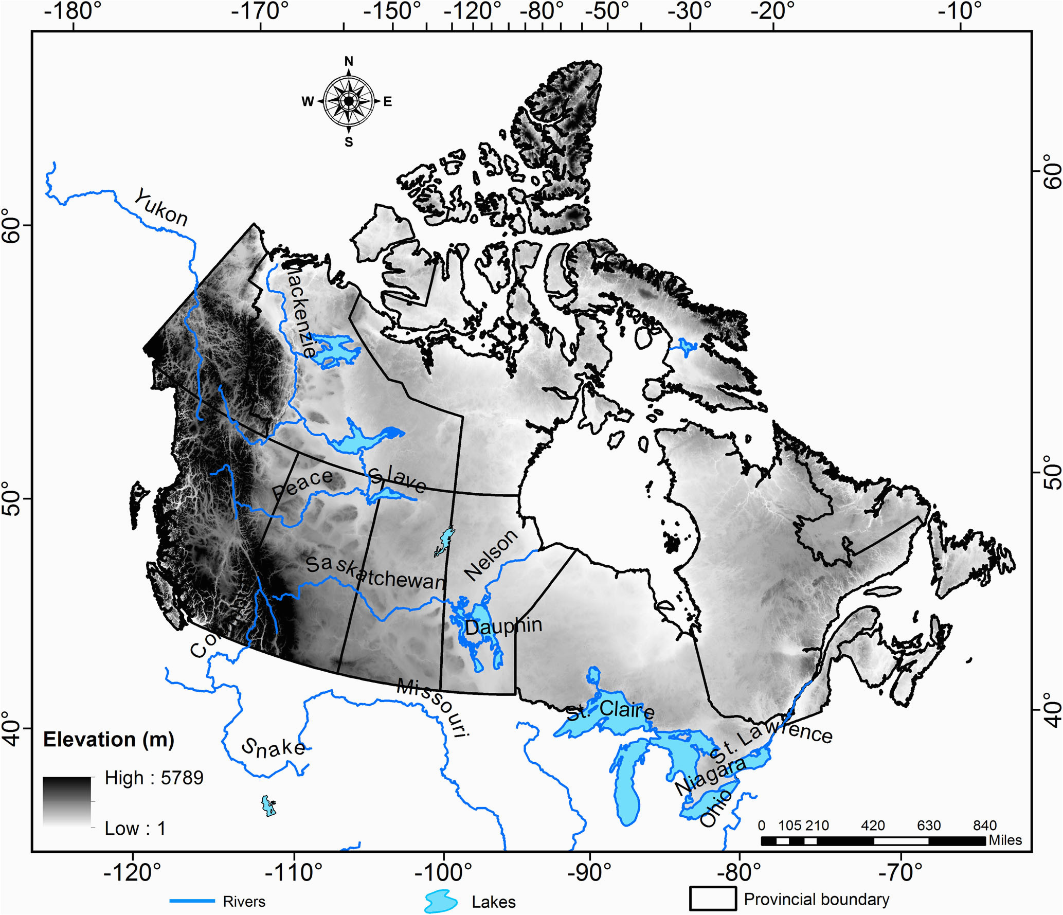 hess historical drought patterns over canada and their
