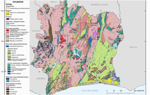 geology of ivory coast revolvy