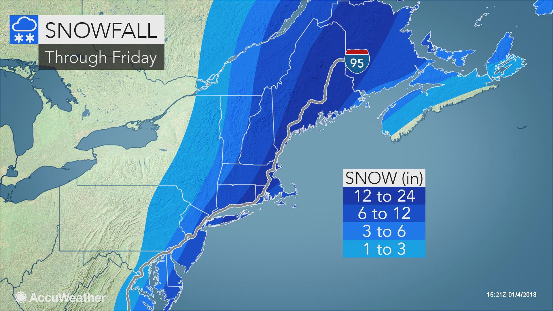 Canada Snow Cover Map Snowstorm Pounds Mid atlantic Eyes New England as A Blizzard