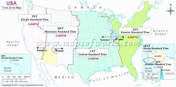 Canada Time Zone Map Printable Time Zone Map Of the World ...