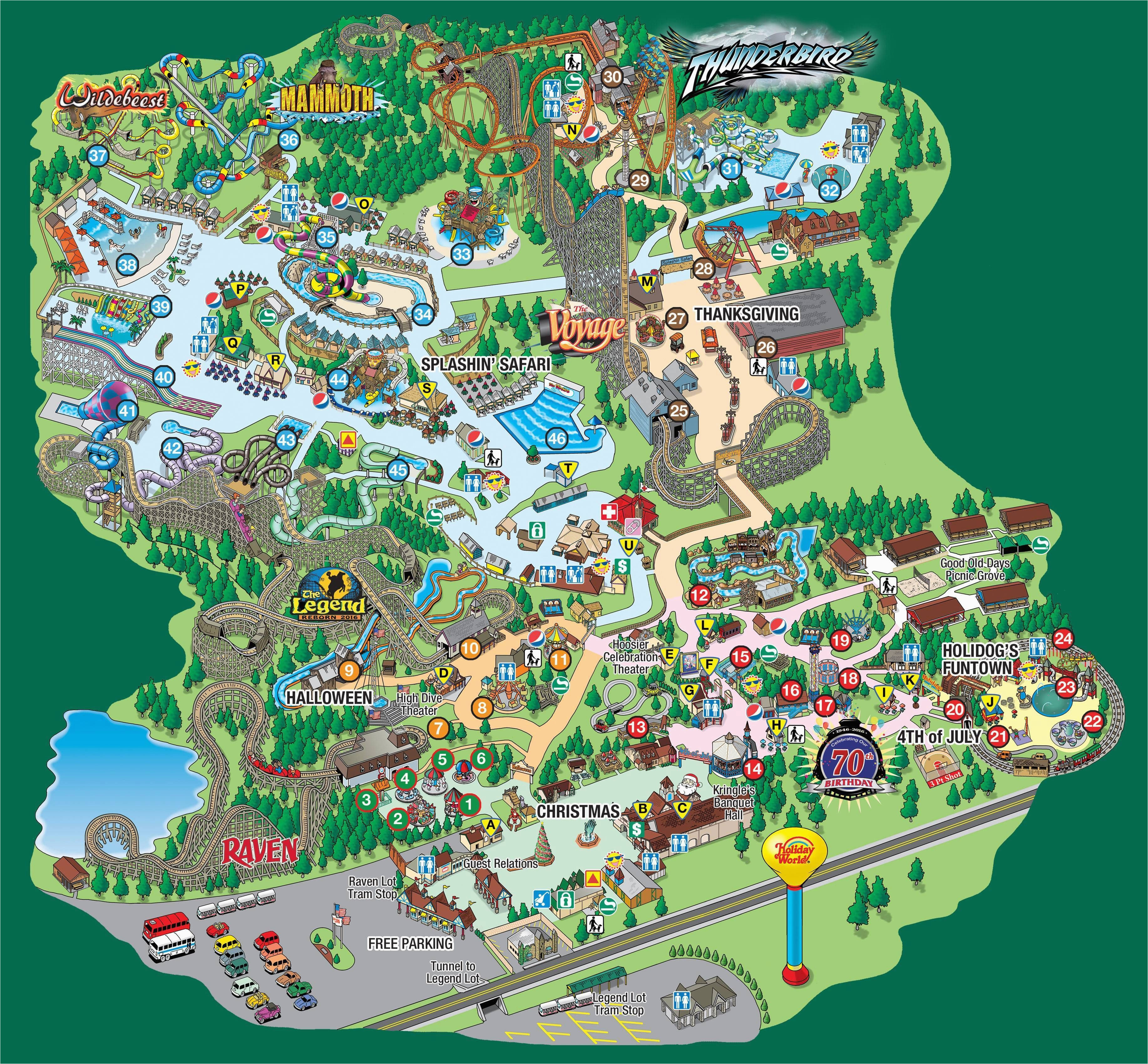splashin safari park map in 2019 family vacations holiday world