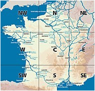 Canals France Map List Of Canals In France Revolvy
