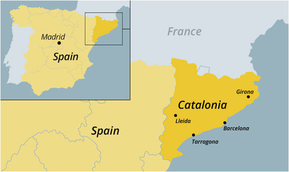 barcelona spain map unique catalunya maps and travel information