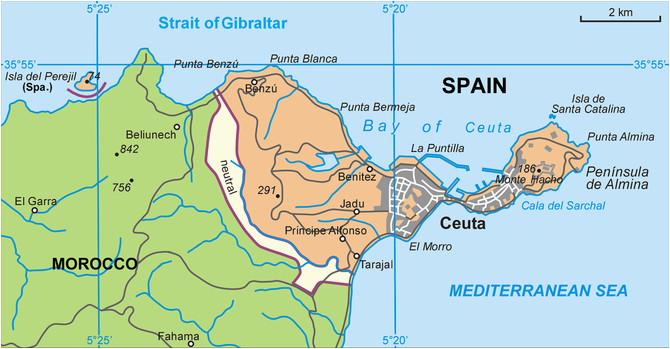 ceuta wikipedia spain map historical maps spain