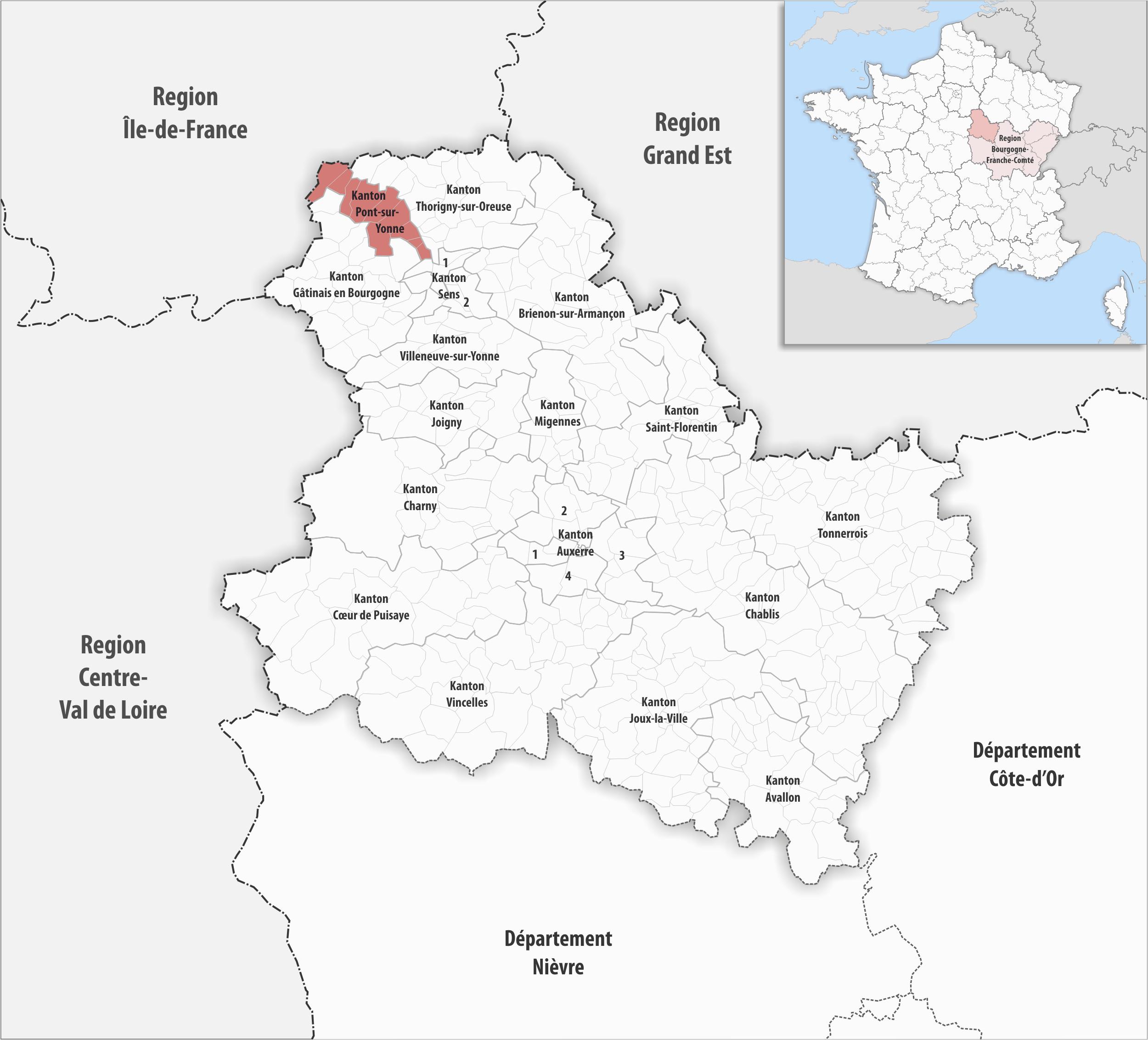 kanton pont sur yonne wikipedia