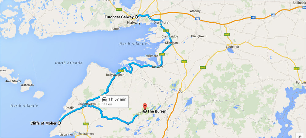 cliffs of moher and the burren galway guide