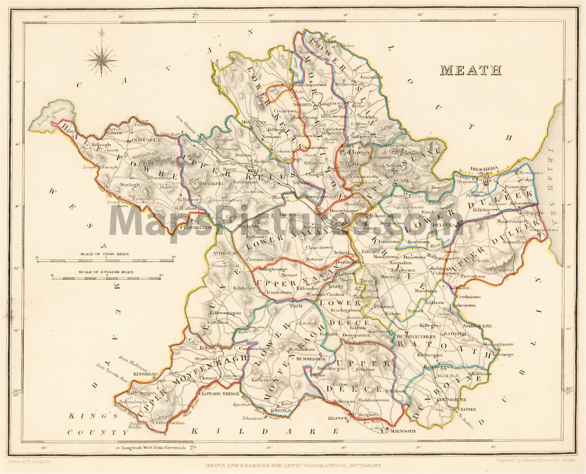 map of co meath ireland twitterleesclub