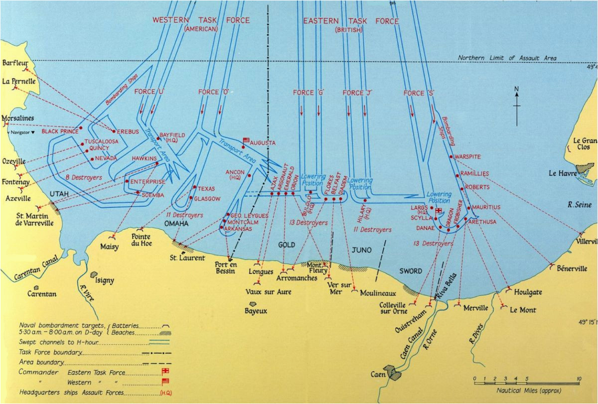 d day beaches map the names of the normandy landings