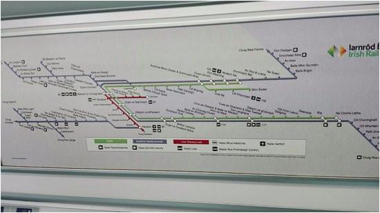 dart picture of dublin area rapid transit dublin