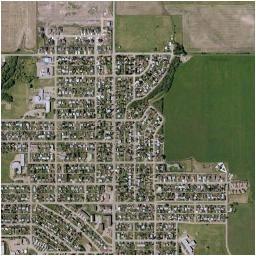 dawson creek map