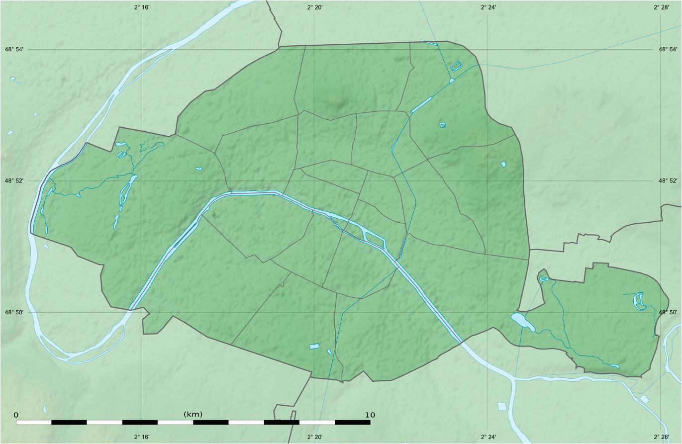 maps of paris wikimedia commons