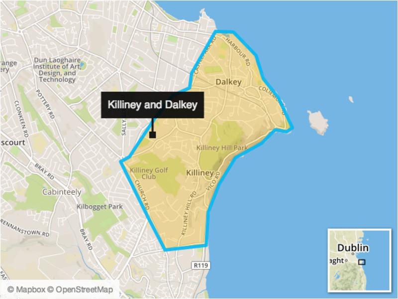 killiney and dalkey two irish coastal villages that make up