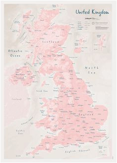 33 best british isles maps images in 2019 wall maps map