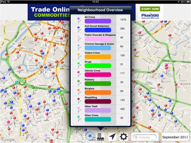 crime map england wales on the app store