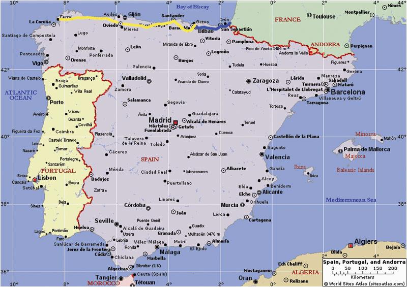 map of east coast spain twitterleesclub