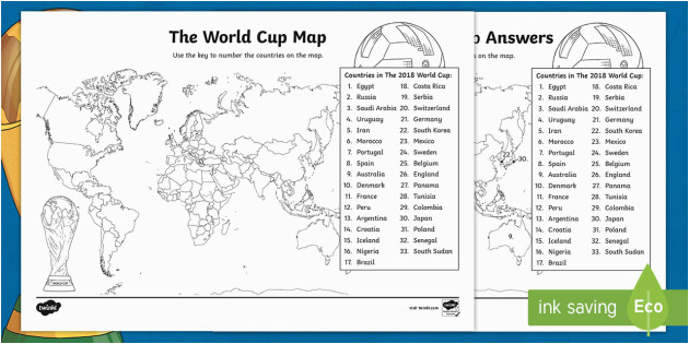 the world cup map worksheet the world cup map worksheet