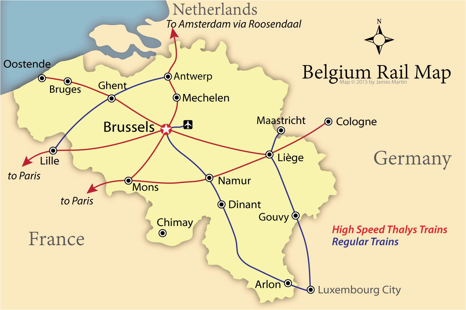 how to get around belgium like a local