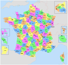 departments of france wikipedia